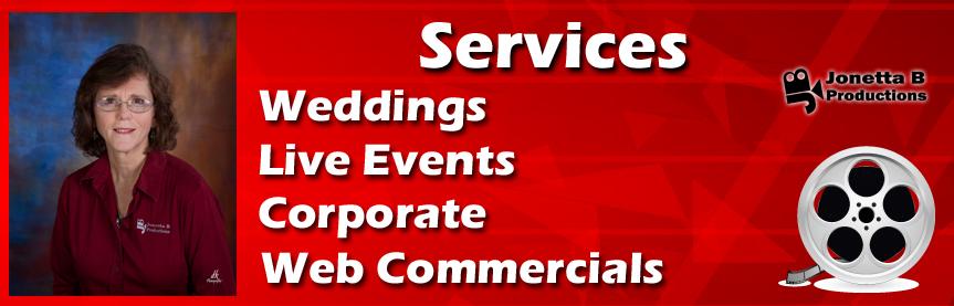 Weddings Corporate Business Jonetta B Productions Houston Website